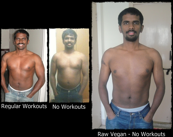 Raw Vegan Transformation