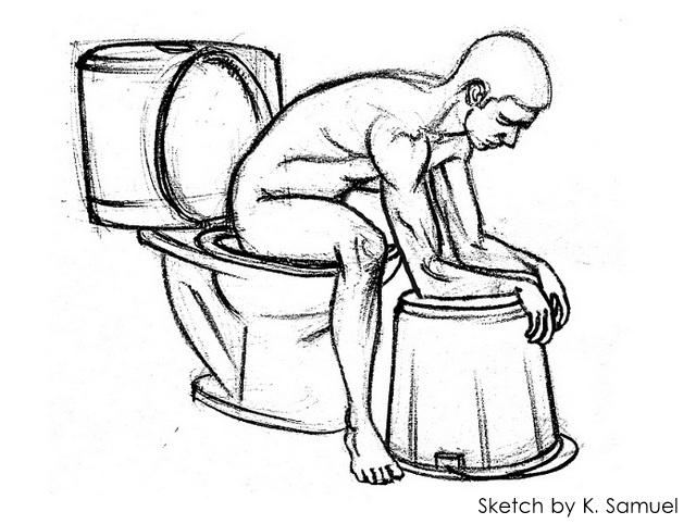 Western Toilets Posture 2